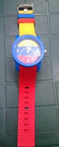 Reloj Tricolor De Venezuela Totamente Nuevo