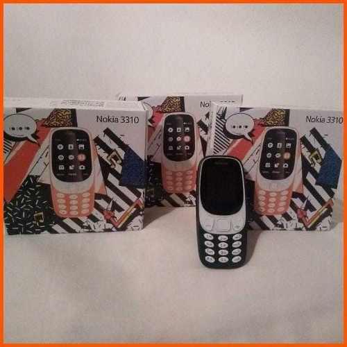 Teléfonos Celulares Nokia 3310 Nuevos Liberados