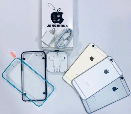 iPhone 6 16gb (180) 4g Forro Vidrio Audífonos 1 Mes