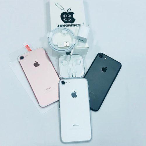 iPhone 7 32gb (300) 4g Vidrio Tienda 1 Mes De Garantía