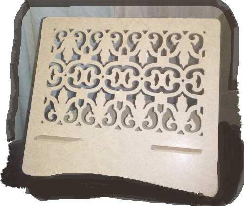 Base Decorativa Para iPad En Mdf Crudo