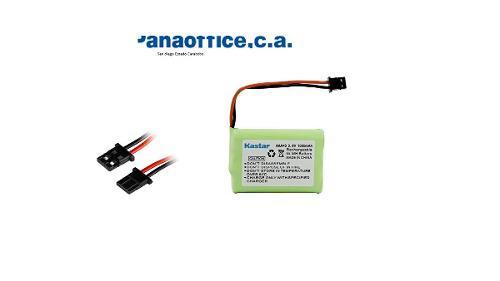 Bateria Telefono Inalambrico 3.6v 1000mah 2 Cables Pregunte