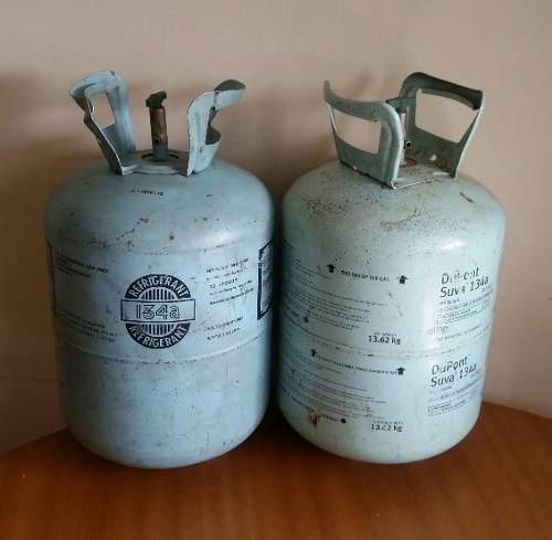 Bombona Vacía De Gas Refrigerante 134a De 13,6 Kg