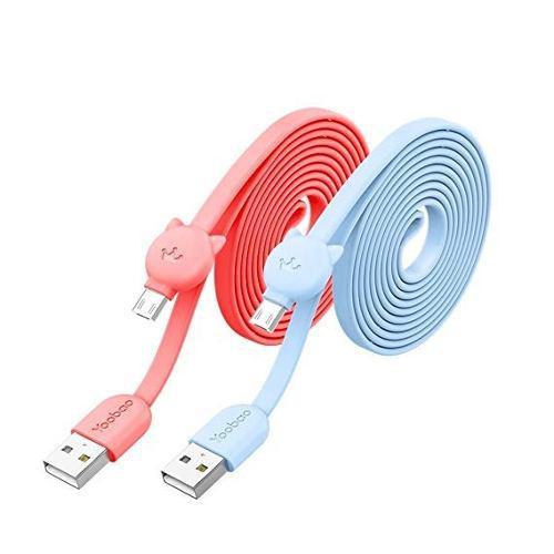 Cable Micro Usb De Carga Y Datos Yoobao Yb-411 Rosado