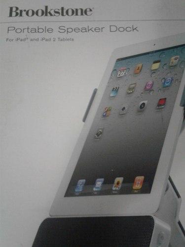 Corneta Portable Para iPad 1 Y 2 Brookstone
