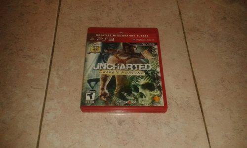 Juego De Uncharted 1 Original Para Playstation 3