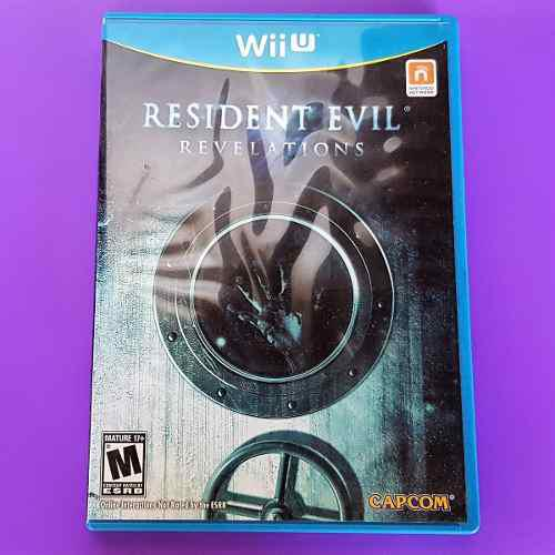 Juego Físico Resident Evil Nintendo Wii U (10 Cash)