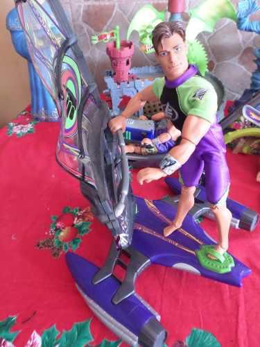 Muñeco Max Steel Con Velero