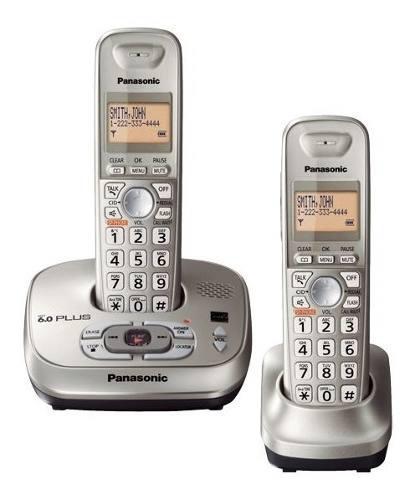 Telefono Panasonic Inalambrico 2 Unidades + Dect 6.0