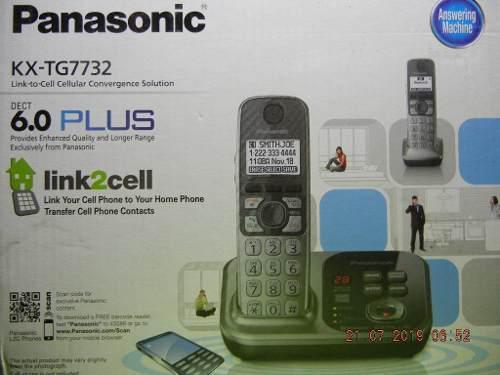 Teléfono Inalambrico Y Contestadora Panasonic Kx-tg7732 2