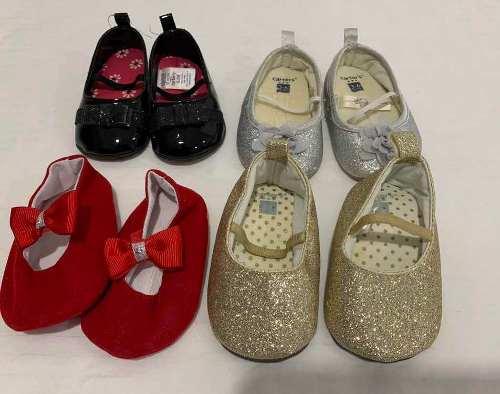 Zapatos De Cuna Para Niñas Carters Y Oshkosh