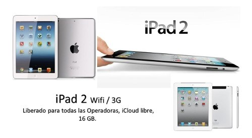 iPad 2 3g/wifi 16gb