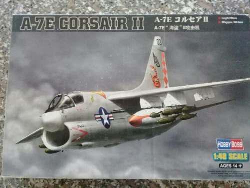Avion A Escala A-7e Corsair Ii 1/48 Marca Hobby Boss
