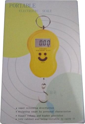Balanza Peso Digital 50 Kg Portatil Colgante Portable 6vrds