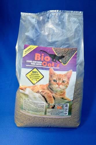 Bio Cats Arena Para Gatos 5kg Animales Mascotas