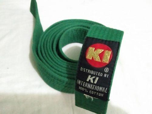Cinta, Cinturon De Karate