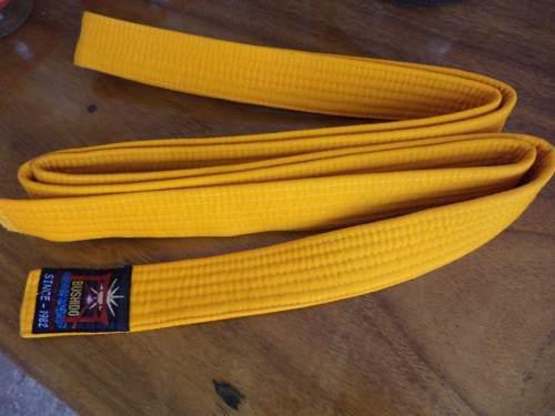 Cintas Cinturon De Grado Karate Color Naranja