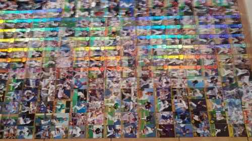 Coleccion De Cartas De Beisbol Profesional Mlb