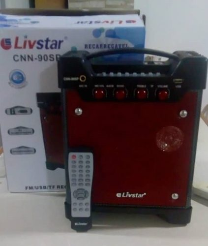 Corneta Portatil Bluetooth Usb Micro Sd Radio (recargable)