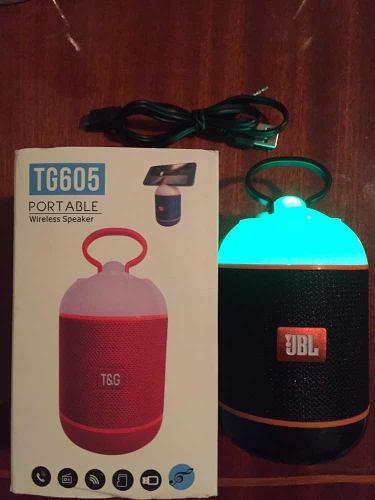 Corneta Portátil Tg605 Bluetooth Nuevas