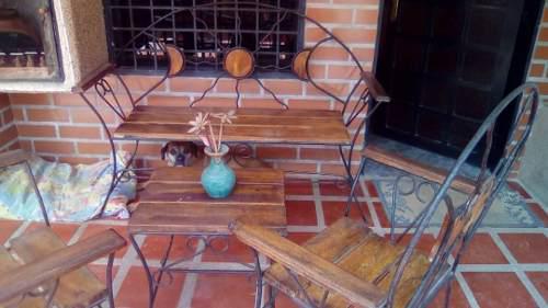 Juego De Muebles Tipo Pantry Para Porche