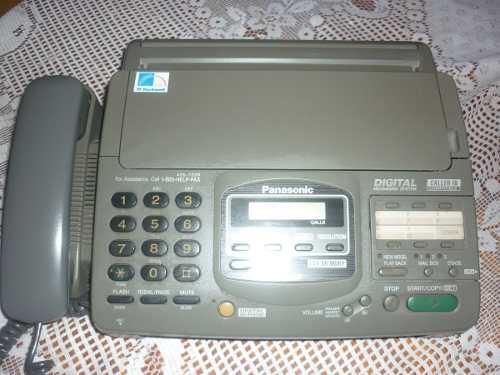 Maquina De Fax/telefono Panasonic Modelo Kx-f880