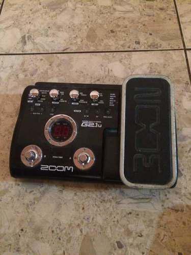 Pedal De Guitarra Zoom G2.1u