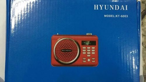 Radio Portatil Mp3
