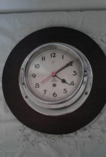 Reloj Antiguo Viking Aleman De Cuerda De Pared Y Su Llave