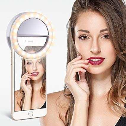 Selfie Ring Light O Aro De Luz Para iPhone-androids-tablets