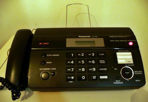 Telefono Fax Panasonic Kx-ft987la Copiadora Poco Uso