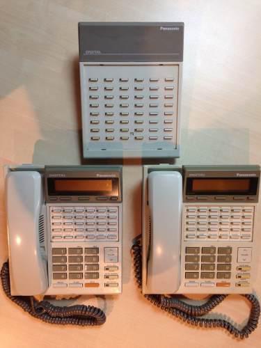 Teléfonos Panasonic Para Central Digital Con Operadora.