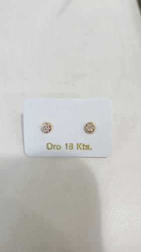 Zarcillos Abridores De Oro 18 Kilates