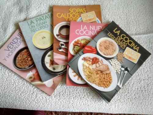 5 Números De La Colección ¨el Arte De La Cocina