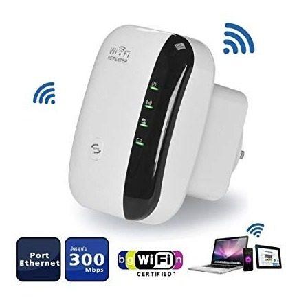 Amplificador De Señal Inalambrica Repetidor Wi Fi 300 Mbps