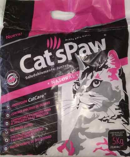 Arena Para Gatos Cats Paw (5 Kg)