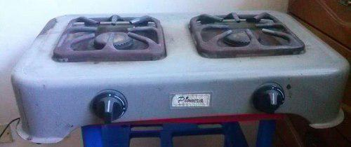 Cocina A Gas 2 Hornillas Sobremesa Marca Pionera