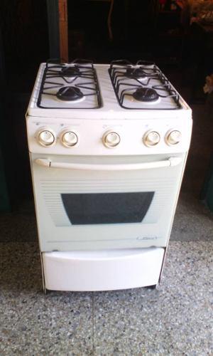 Cocina A Gas 4 Hornillas Con Horno Usada