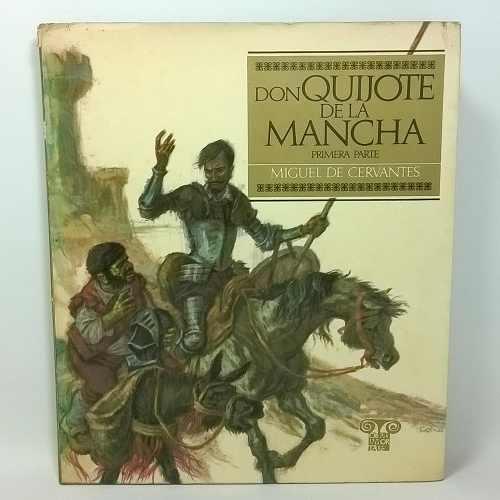 Don Quijote De La Mancha Miguel De Cervantes Libro 2 Tomos