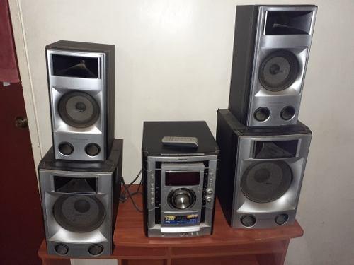 Equipo De Sonido Sony Mp3 Cd Cassette Radio Aux