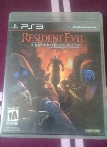 Juego Original Play 3. Resident Evil. Operation Raccoon City