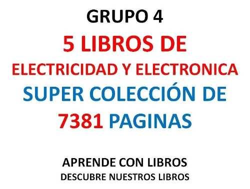 Libros De Electricidad Grupo 4 En Pdf