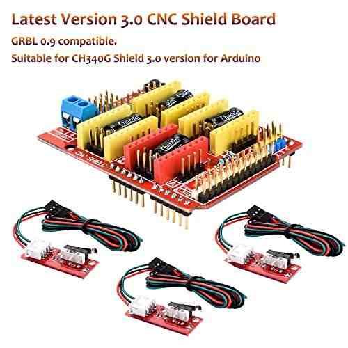 Para Arduino Longruner Profesional 3d Impresora Cnc Amz