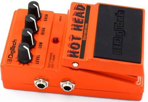 Pedal Distortión Hot Head Digitech Guitarra Electrica Boss