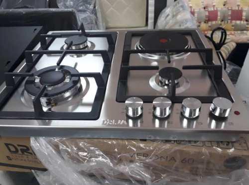 Tope De Cocina Drija Dual En Acero De 60 Cm
