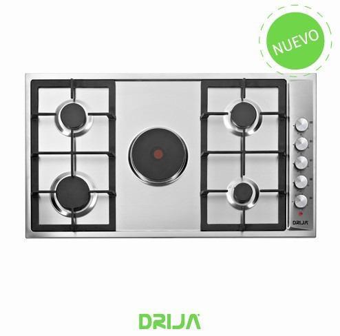 Tope De Cocina Drija Dual En Acero De 90 Cm
