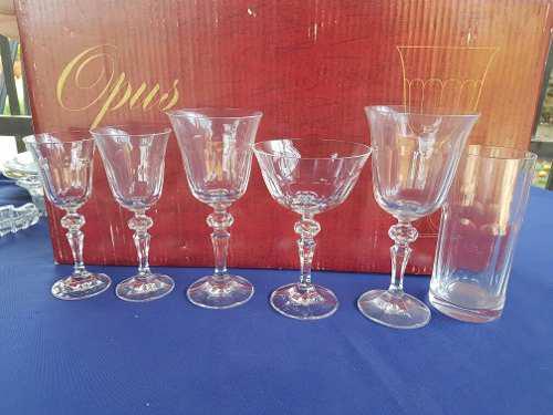 Vendo Coleccion De Copas De Cristal De Bohemia Checoslovaco