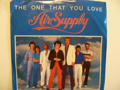 Disco 45 Rpm Vinil the One That You Love De Air Supply