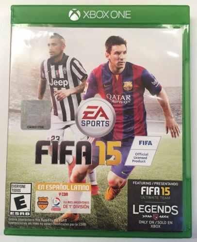 Fifa 15 Xbox One Original Físico Tienda Física