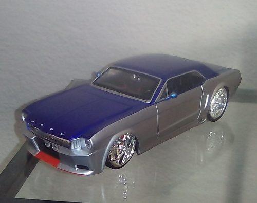 Ford Mustang  Escala 1/24 Colección Jada En Caja 25vrds